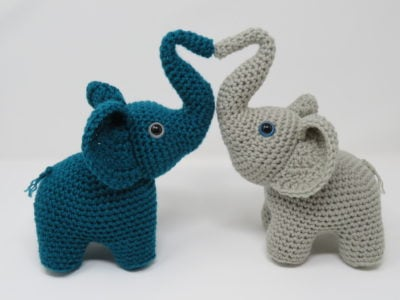 Elephants in Love by Kati Brown from Hooked by Kati