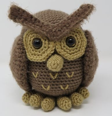 Hygge Owl by Kati Brown for Underground Crafter
