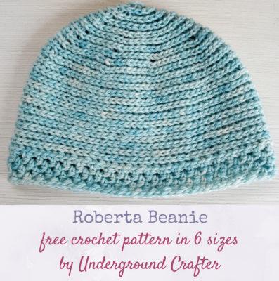 Roberta Beanie by Marie Segares/Underground Crafter