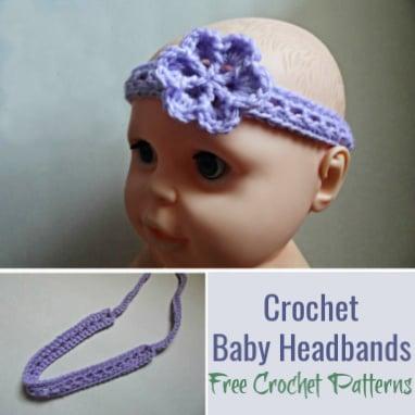 Crochet Baby Headbands Free Crochet Patterns