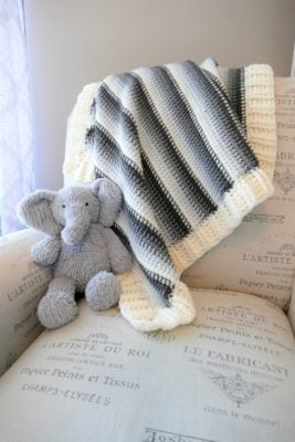 Sweet Stratus Baby Blanket by Pam Grice for Underground Crafter