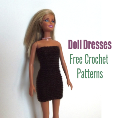Crochet Doll Dresses ~ FREE Crochet Patterns