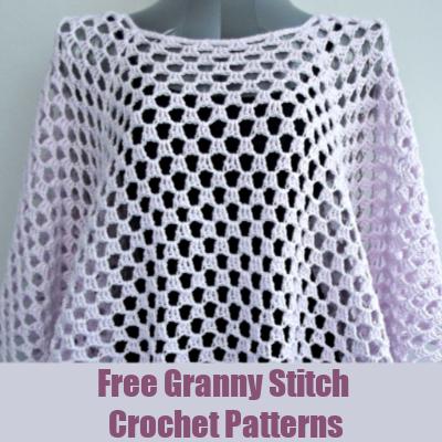 Free Granny Stitch Crochet Patterns