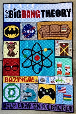 Big Bang Theory C2C CAL by Donna Beavers - 3amgracedesigns