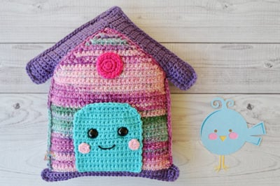 Birdhouse Kawaii Cuddler™ by Donna Beavers - 3amgracedesigns