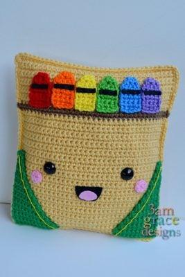 Crayon Box Kawaii Cuddler™ by Donna Beavers - 3amgracedesigns