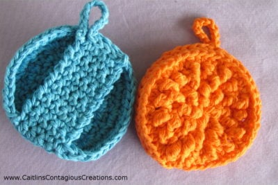 Bumpy Face Scrubby by Caitlin's Contagious Creations