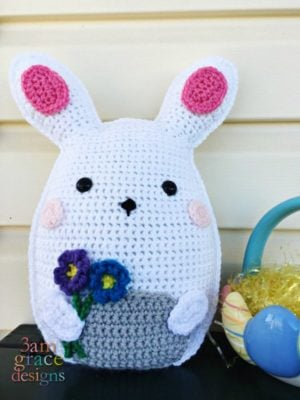 Bunny Kawaii Cuddler™ by Donna Beavers - 3amgracedesigns