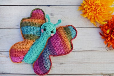 Butterfly Kawaii Cuddler™ by Donna Beavers - 3amgracedesigns