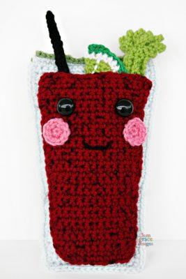 Caesar Drink Kawaii Cuddler™ – Free Crochet Pattern by Donna Beavers - 3amgracedesigns