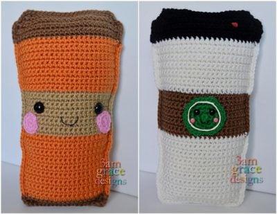 Coffee Kawaii Cuddler™ by Donna Beavers - 3amgracedesigns