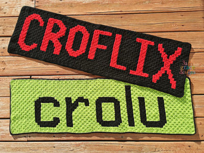 Croflix & Crolu by Donna Beavers - 3amgracedesigns