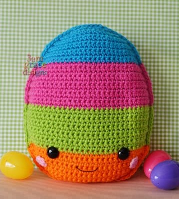 Easter Egg Kawaii Cuddler™ by Donna Beavers - 3amgracedesigns