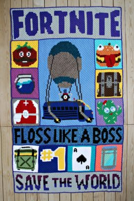 Fortnite C2C CAL by Donna Beavers - 3amgracedesigns