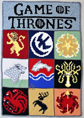 Game of Thrones C2C CAL by Donna Beavers - 3amgracedesigns