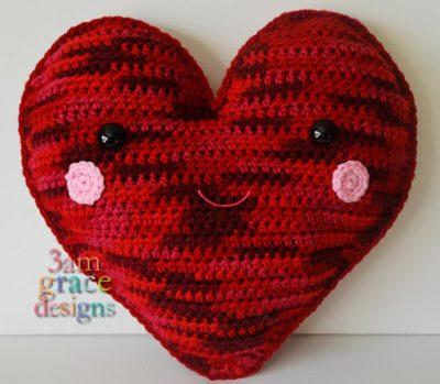 Heart Kawaii Cuddler™ by Donna Beavers - 3amgracedesigns