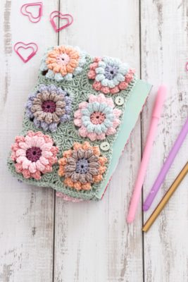 Flower Clutch Bag by Thoresby Cottage