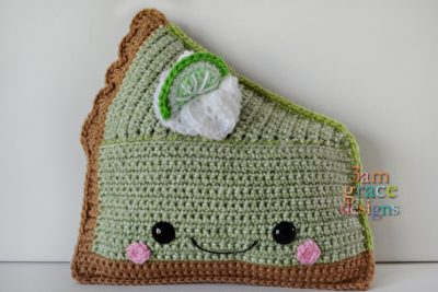 Key Lime Pie Kawaii Cuddler™ by Donna Beavers - 3amgracedesigns