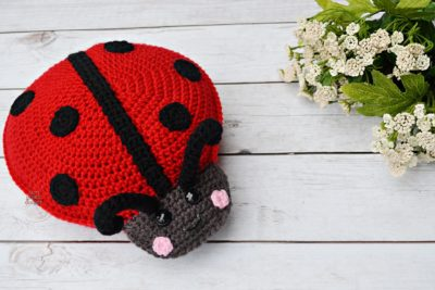 Ladybug Kawaii Cuddler™ by Donna Beavers - 3amgracedesigns