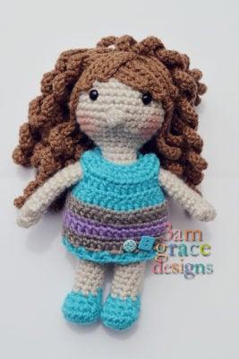 Megan Elizabeth Amigurumi Doll by Donna Beavers - 3amgracedesigns