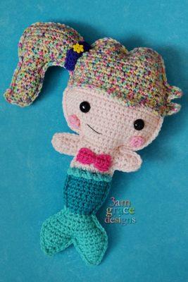 Mermaid Kawaii Cuddler™ by Donna Beavers - 3amgracedesigns