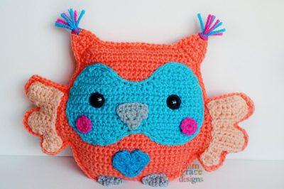 Owl Kawaii Cuddler™ by Donna Beavers - 3amgracedesigns
