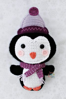 Penguin Kawaii Cuddler™ by Donna Beavers - 3amgracedesigns