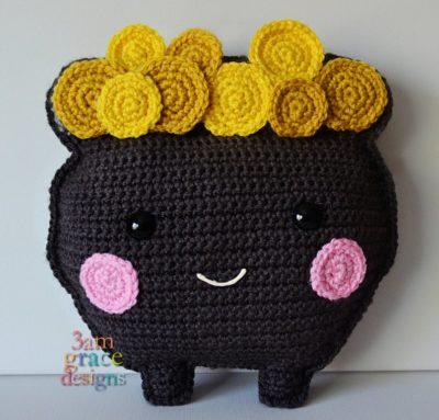Pot O' Gold Kawaii Cuddler™ by Donna Beavers - 3amgracedesigns