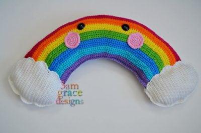 Rainbow Kawaii Cuddler™ by Donna Beavers - 3amgracedesigns