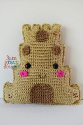Sandcastle Kawaii Cuddler™ by Donna Beavers - 3amgracedesigns