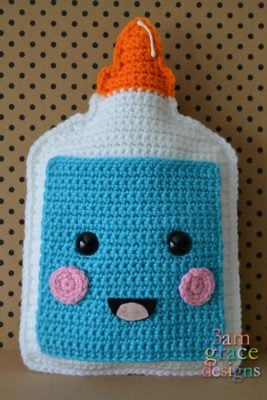 School Glue Kawaii Cuddler™ by Donna Beavers - 3amgracedesigns