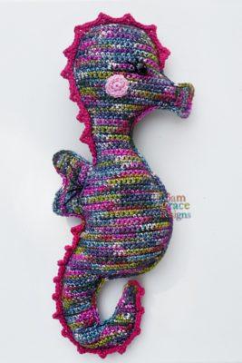 Seahorse Kawaii Cuddler™ by Donna Beavers - 3amgracedesigns