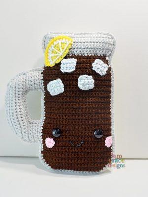 Sweet Tea Kawaii Cuddler™ by Donna Beavers - 3amgracedesigns