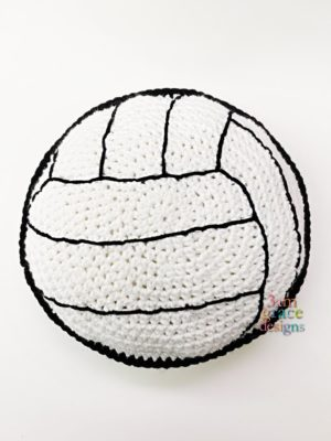 Volleyball Kawaii Cuddler™ by Donna Beavers - 3amgracedesigns