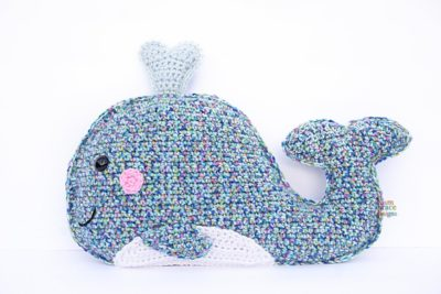 Whale Kawaii Cuddler™ by Donna Beavers - 3amgracedesigns
