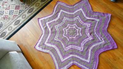 8 point Star Afghan by Meladora's Creations
