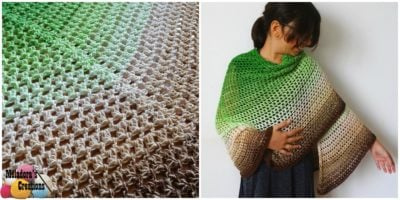 Emerald Isle Butterfly Shawl by Candy Lifshes from Meladora's Creations