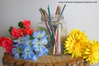 Guide to Crochet Hooks by Caitlin's Contagious Creations