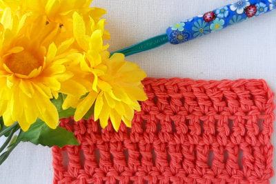 Treble Crochet Stitch Tutorial by Caitlin's Contagious Creations