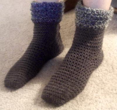 Crochet Bootsy Socks by City Farmhouse Studio