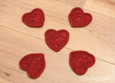 Red Heart Granny Pattern by Loopsan