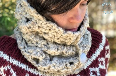 Arcone Cowl by Crystal | ChristaCoDesign