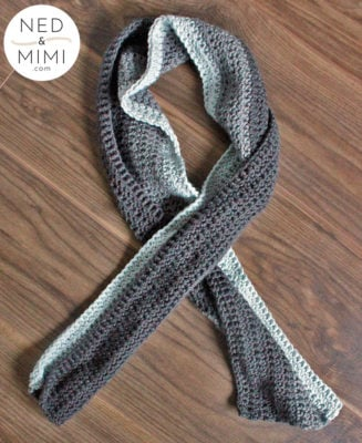 Chunky Color Block Scarf by Ned & Mimi