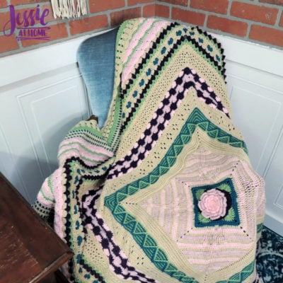 Janet's Garden Blanket by Jessie Rayot from Jessie At Home