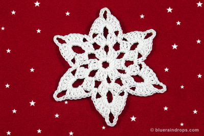 Snowflake Mykonos by blueraindrops