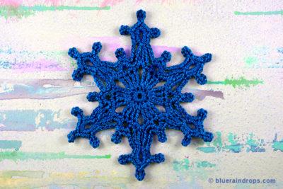 Snowflake Skiathos by blueraindrops