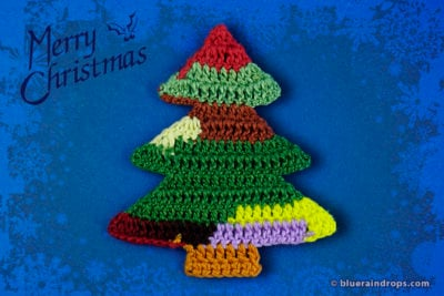 Simple Crochet Christmas Tree by blueraindrops