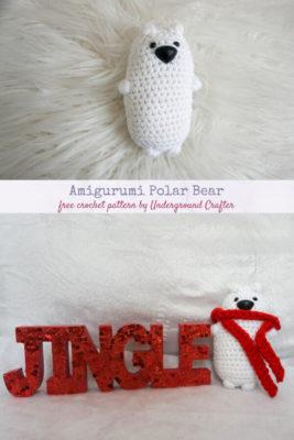 Amigurumi Polar Bear by Marie/Underground Crafter
