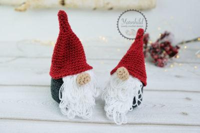 Crochet Nordic Gnome by Ragnhild Hynne-Uebler from Yarnhild