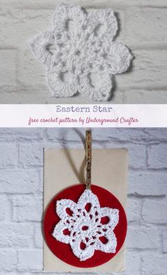 Eastern Star Motif by Marie/Underground Crafter